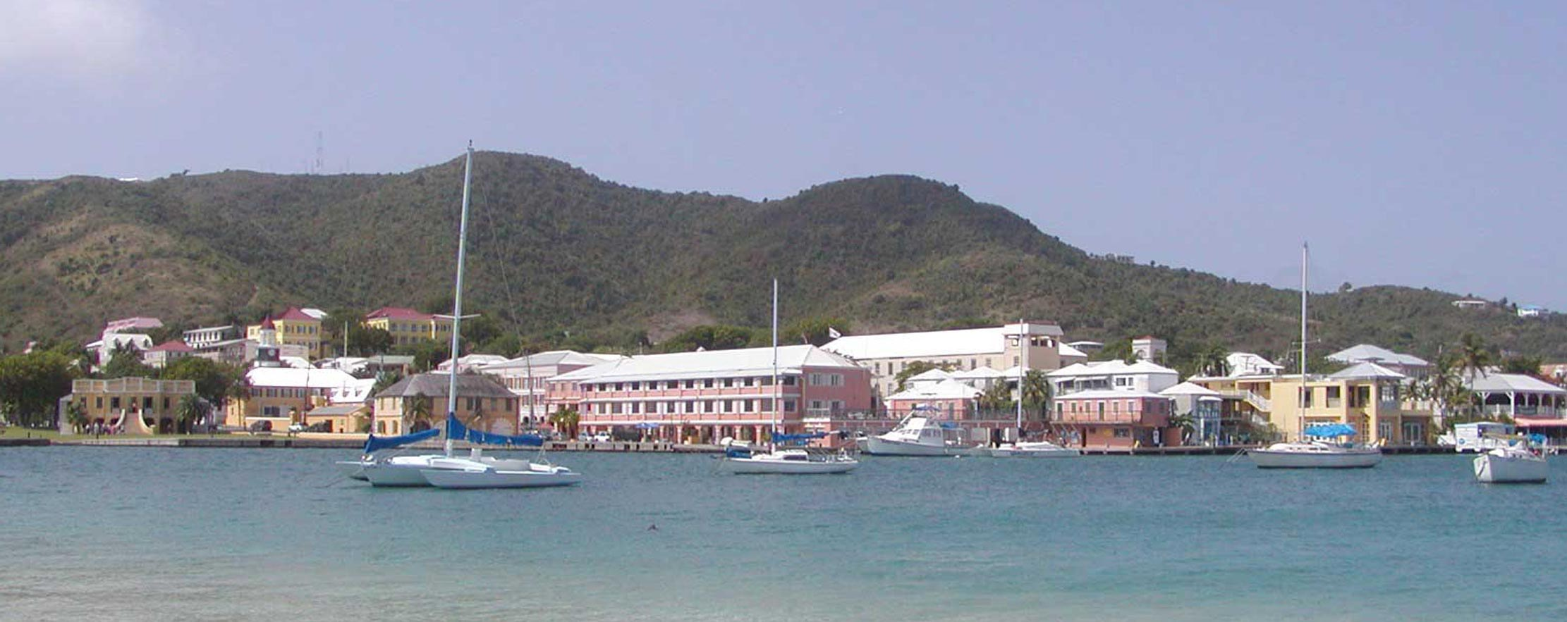 Christiansted Harbor, St. Croix, Virgin Islands